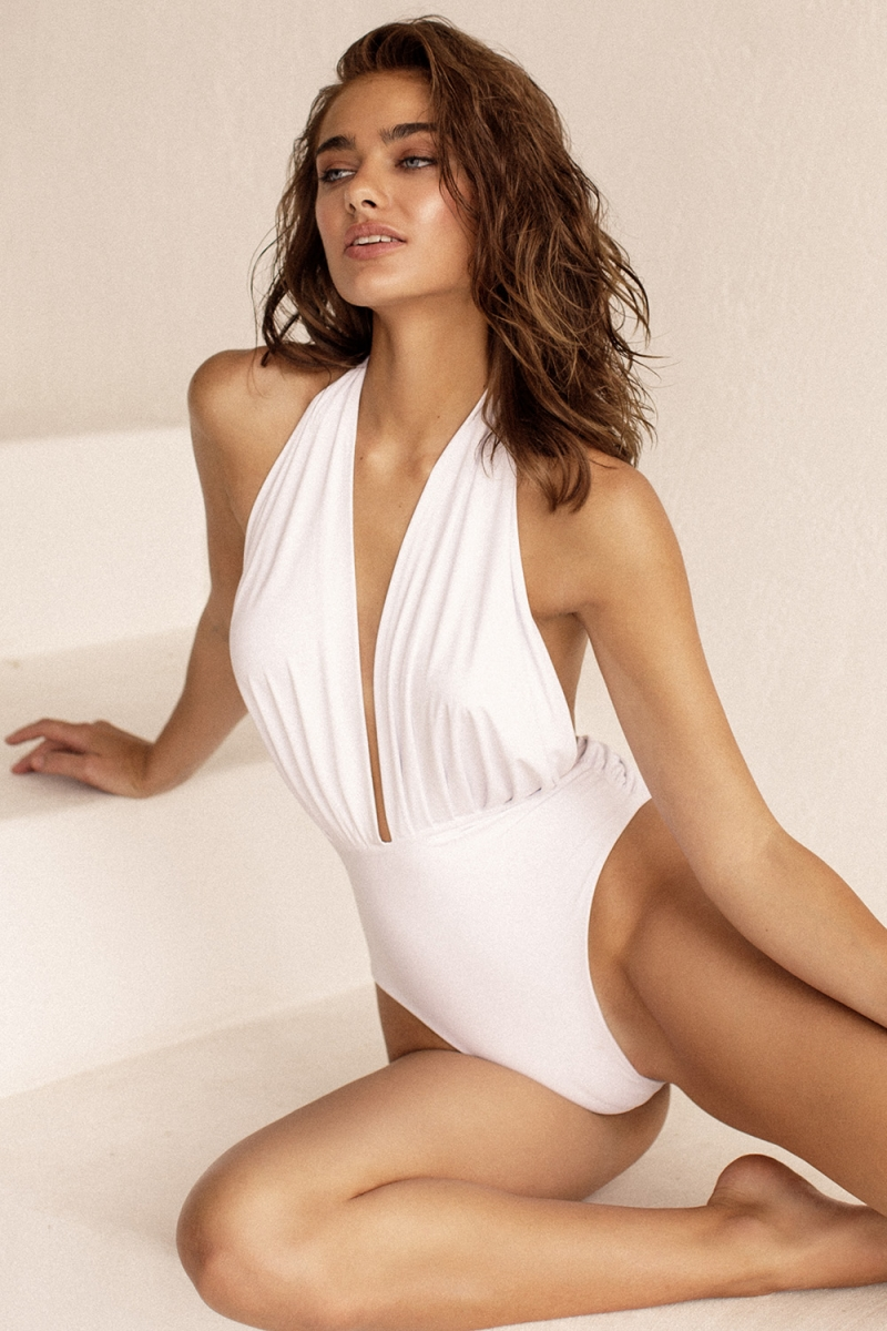 Swimsuit ODRI White